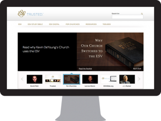 ESV.org Wordpress Web Design